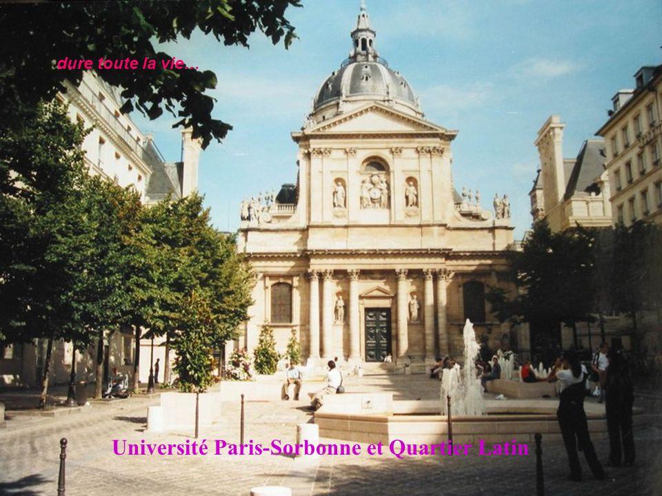 Le Sénat et Le Jardin du Luxembourg, Paris 6è Chagrin d amour