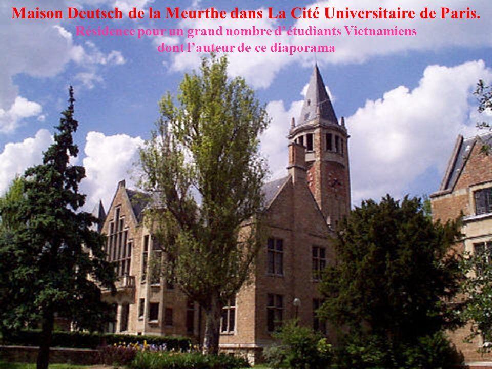 Cité Internationale Universitaire de Paris (1925) Maison dAccueil et Restaurant Universitaire