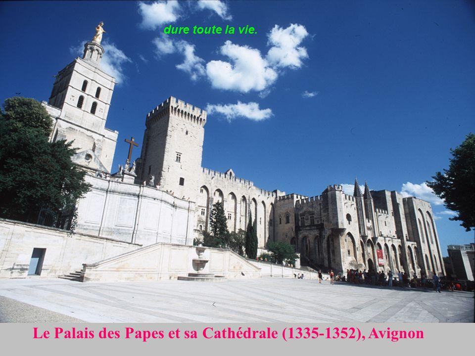Le Pont dAvignon ou Pont Saint-Bénezet (1177-1185) & Le Palais des Papes au bord du Rhône Chagrin d amour
