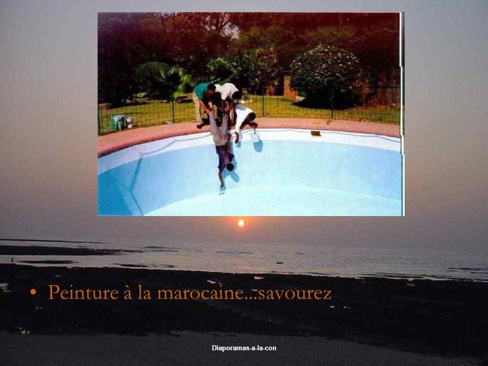 Diaporamas-a-la-con Peinture à la marocaine...savourez