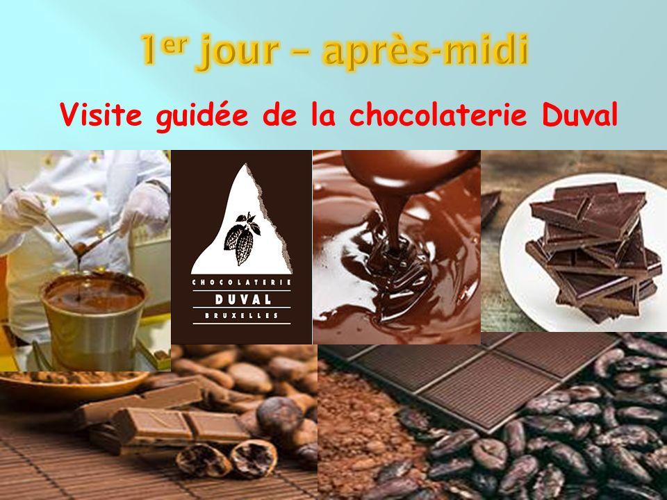 Visite guidée de la chocolaterie Duval