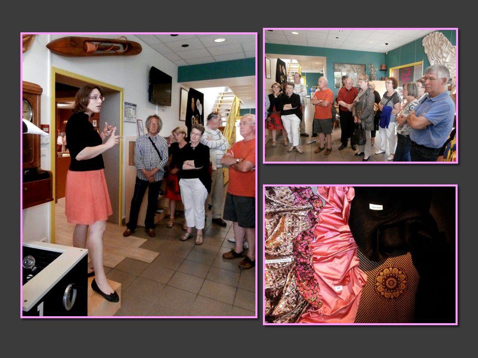 BUSSIERES À la limite du Forez et du Roannais SAMEDI 8 JUIN Avec sa tradition du tissage de la soie et son musée