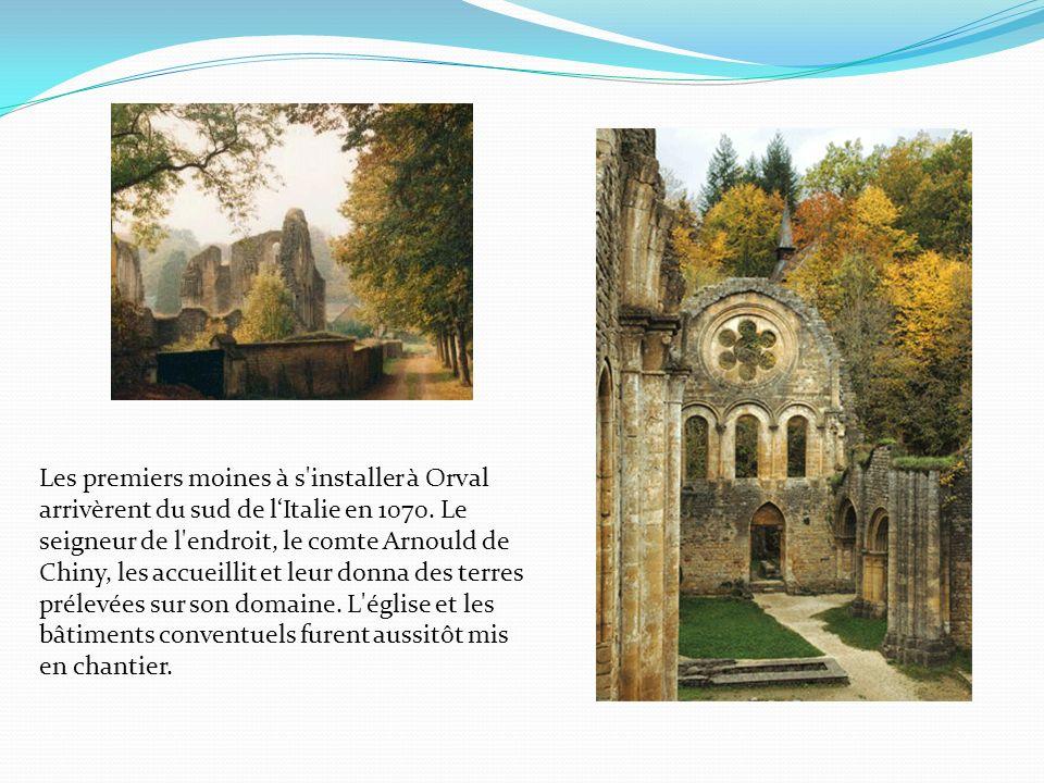 Ruines de lancienne abbaye