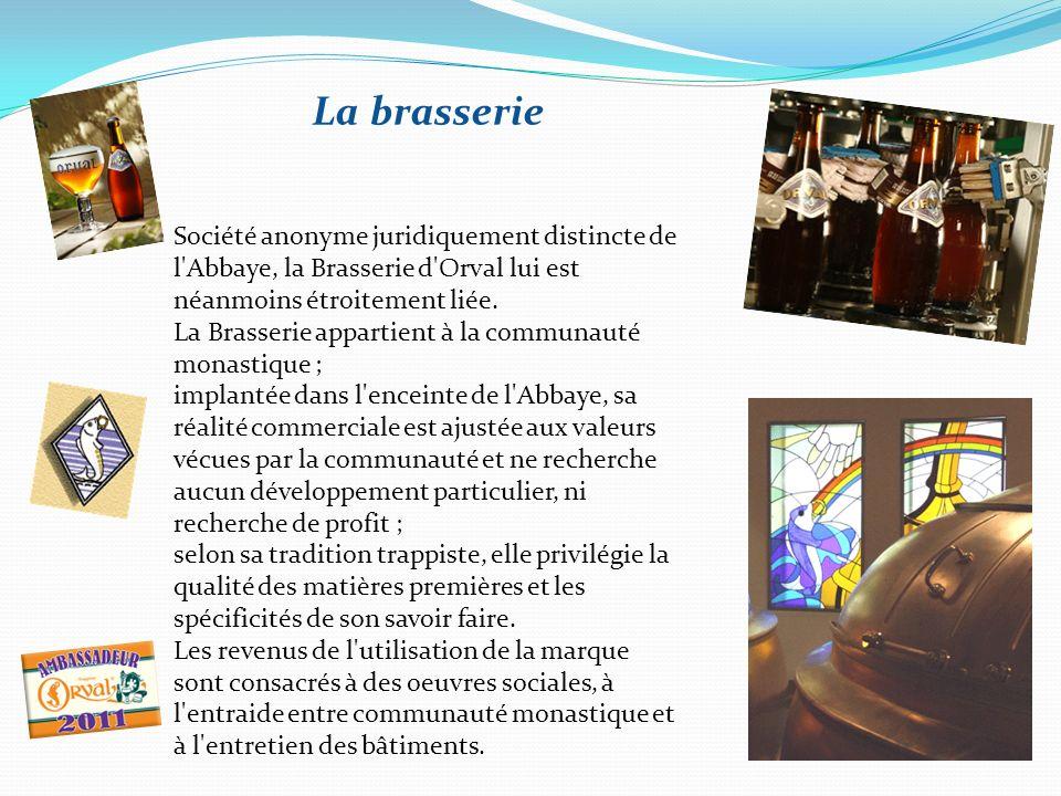 La fromagerie La fabrication de fromage à l'Abbaye d'Orval date de 1928, deux ans après le retour des moines. Ce sont des moines de Sept-Fons à Moulin