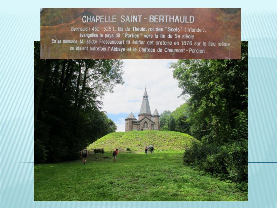 Comme promis je vous présente Saint Berthauld