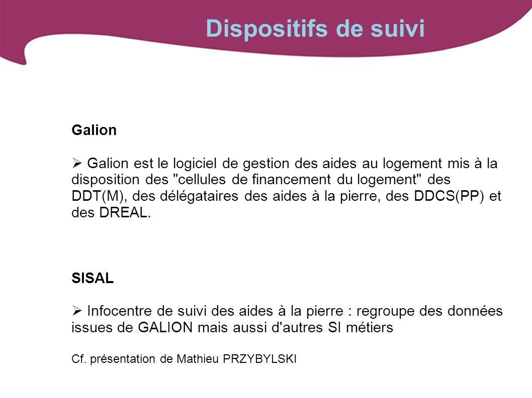 Galion Galion est le logiciel de gestion des aides au logement mis à la disposition des