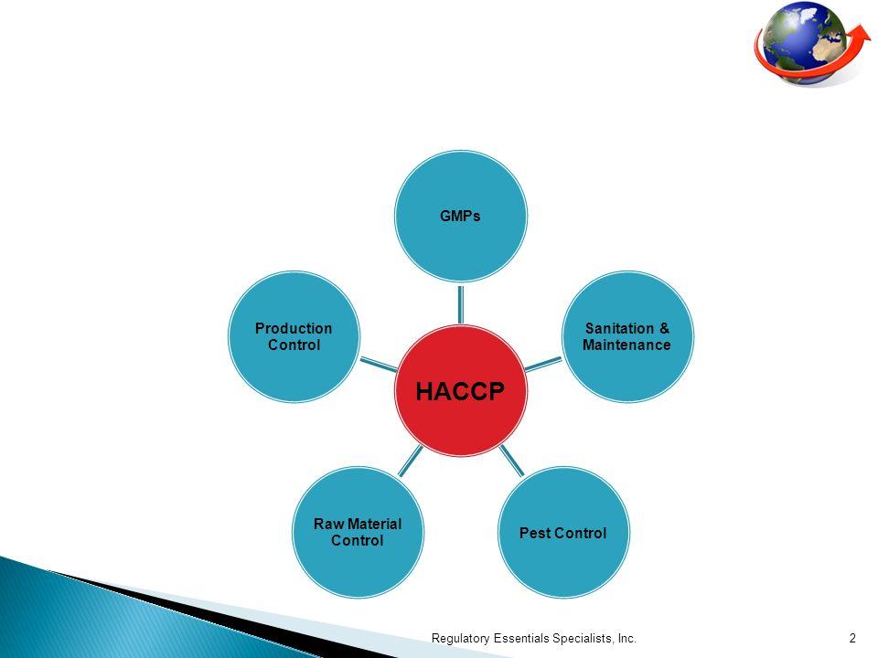 NORMES DE PERFORMANCE DHYGIENE (SPS) Regulatory Essentials Specialists, Inc.3