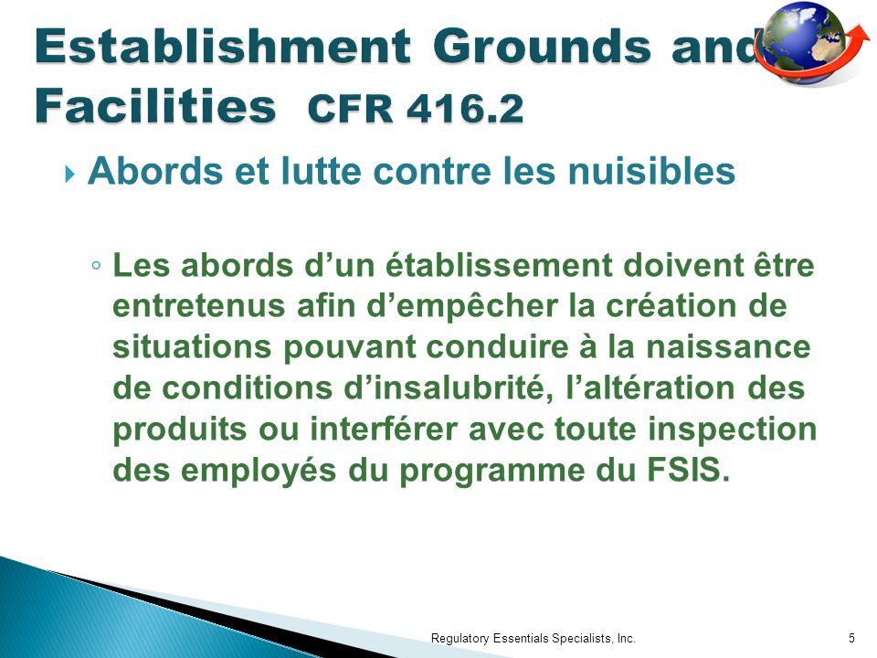 Questions Regulatory Essentials Specialists, Inc.46