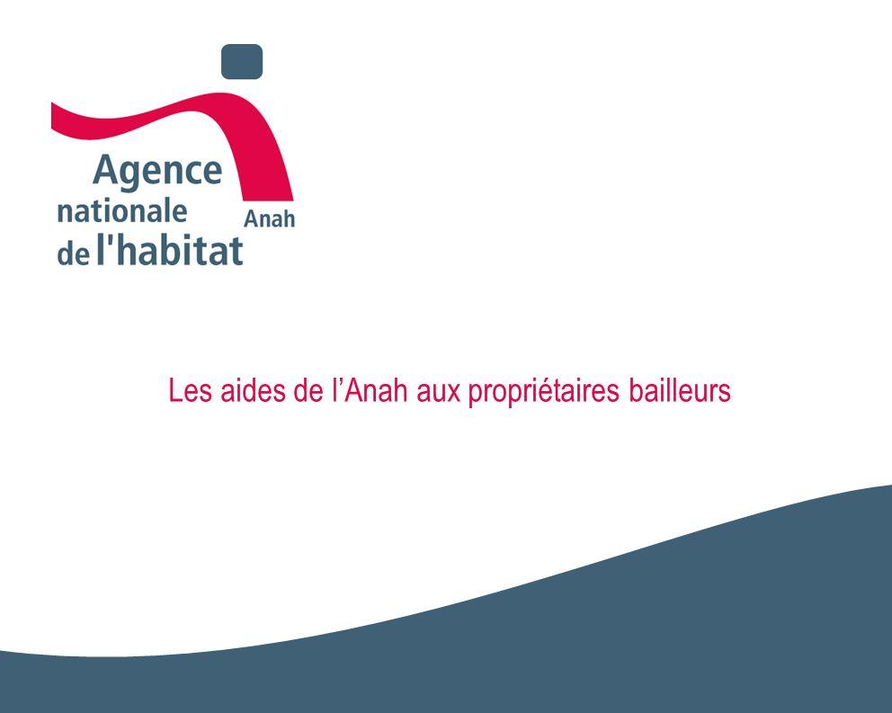 2 LAnah est une agence dÉtat créée en 1971, placée sous la double tutelle des ministres des finances et du logement.
