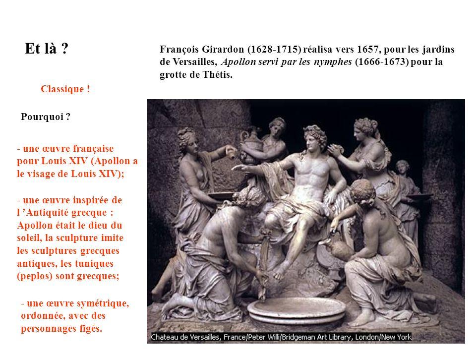 Sculpture réalisée par Le Bernin en 1598 et baptisée