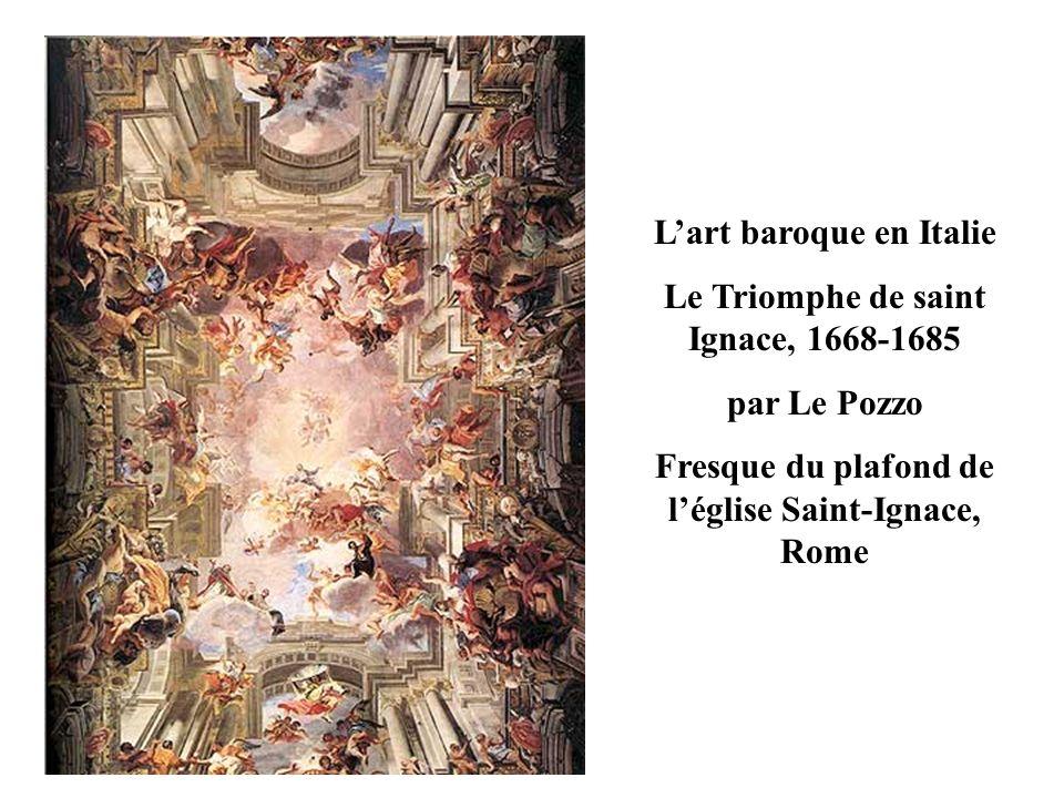 Londres ESPAGNE BAVIERE AUTRICHE Rome PAYS-BAS Paris Versailles Zone de forte diffusion de l art baroque Foyer de l art baroque et diffusion Foyer de