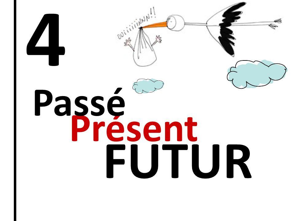 4 Présent Passé FUTUR