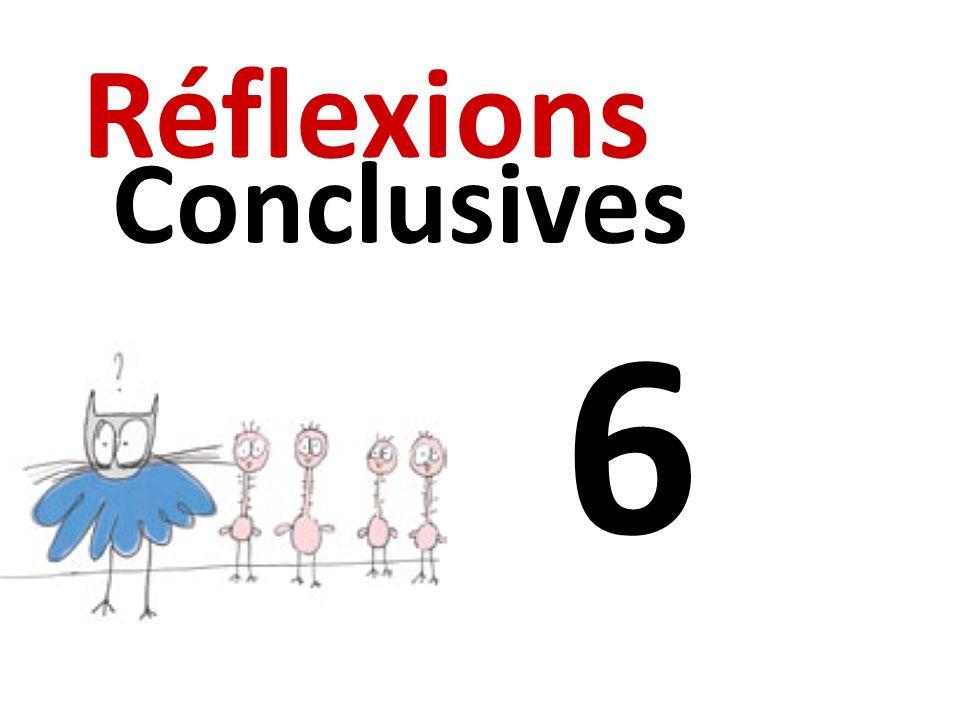 6 Réflexions Conclusives