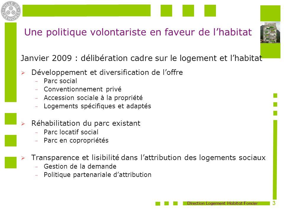Direction Logement Habitat Foncier 4 Développement et diversification de loffre en logement