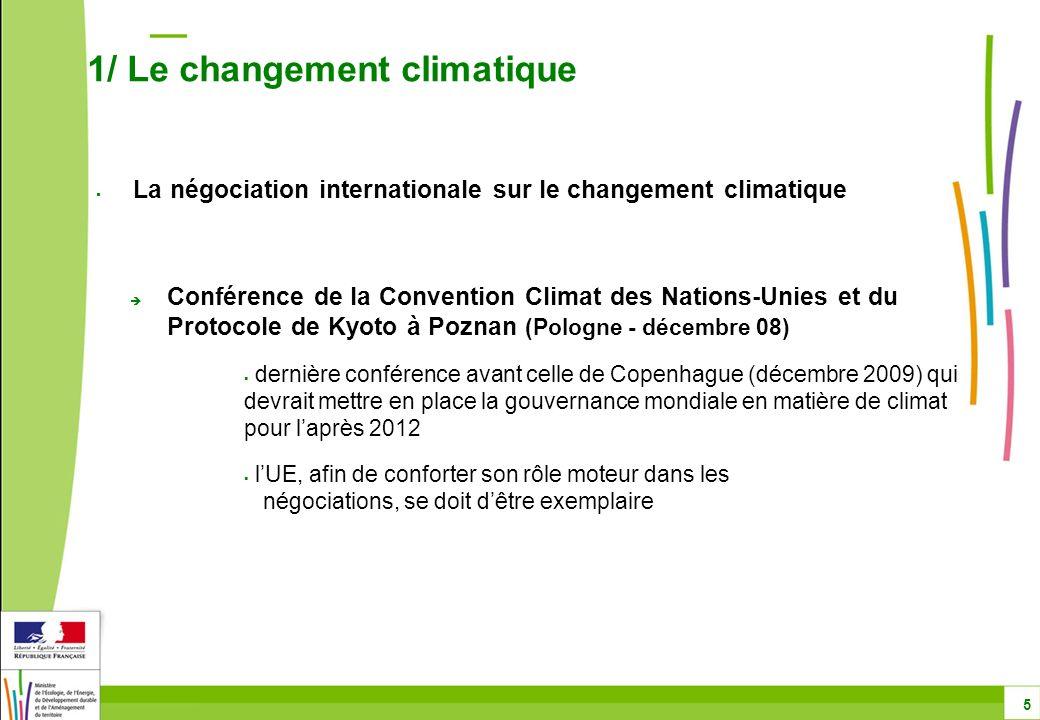 Conférence de la Convention Climat des Nations-Unies et du Protocole de Kyoto à Poznan (Pologne - décembre 08) dernière conférence avant celle de Cope