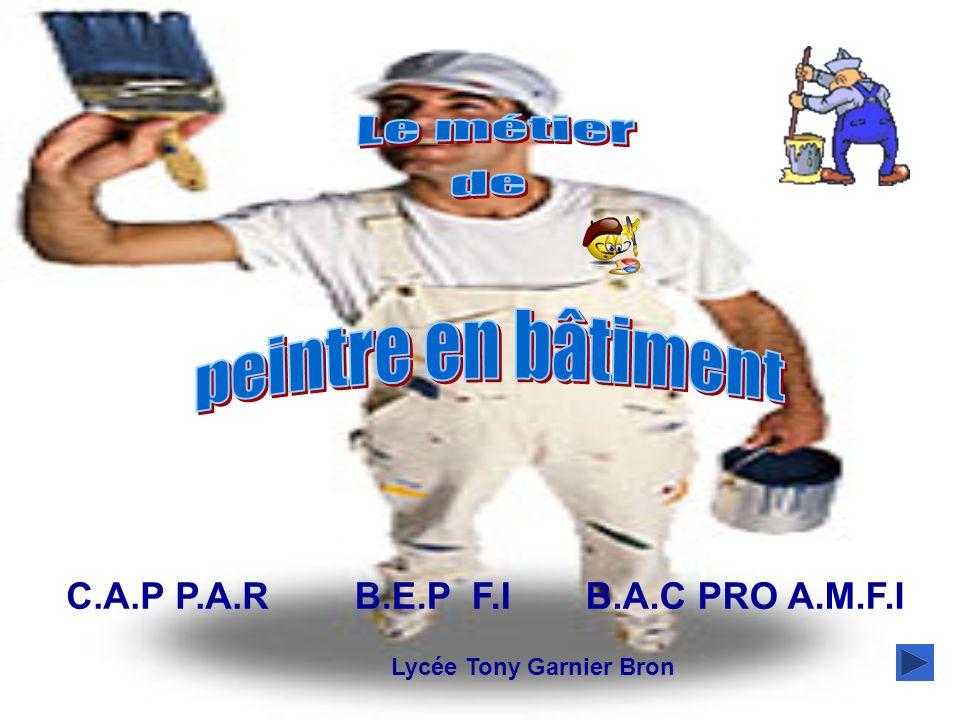 C.A.P P.A.RB.A.C PRO A.M.F.IB.E.P F.I 1 ère DIAPO Lycée Tony Garnier Bron