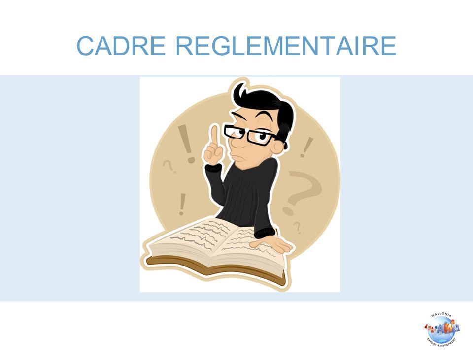 CADRE REGLEMENTAIRE