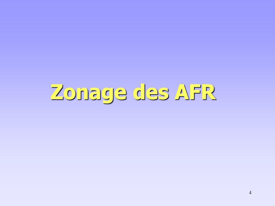 4 Zonage des AFR