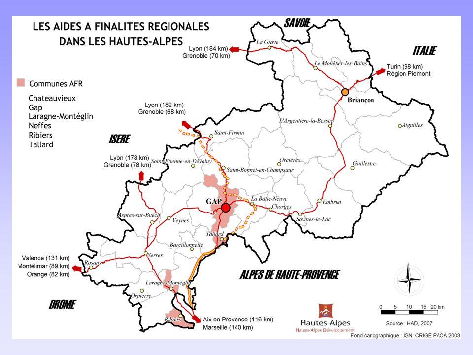6 Le zonage a été réduit au niveau national denviron 55% par rapport à 2000-2006 Mais pour la 1ère fois, les Hautes-Alpes sont concernées par le zonage