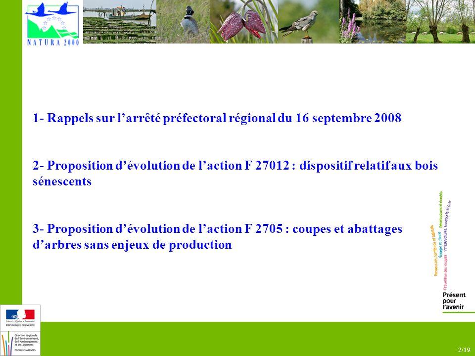 13/19 5- Suppression de lobligation dengager 5 m3 minimum 2-2- Évolutions Additif du 16 novembre 2010 : des évolutions majeures !
