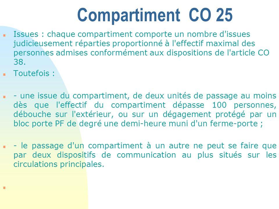 Conception des Escaliers – n L absence de protection des escaliers est admise dans les cas suivants : n a) S il est fait application des dispositions de l article CO 24 (§ 1) : n 1.