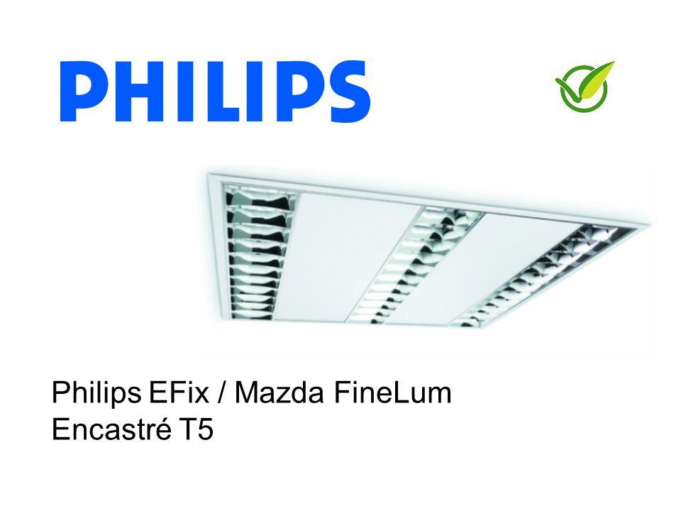2 Philips EFix / Mazda FineLum : Nouvelle gamme encastré TL5 Produit phare vert
