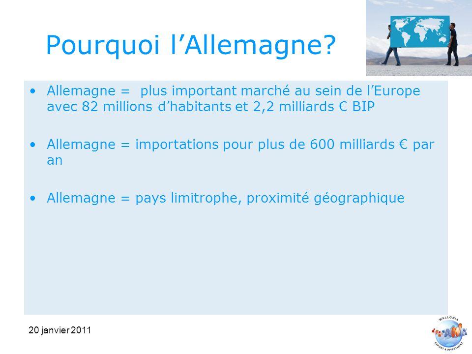 20 janvier 2011 Pourquoi lAllemagne.