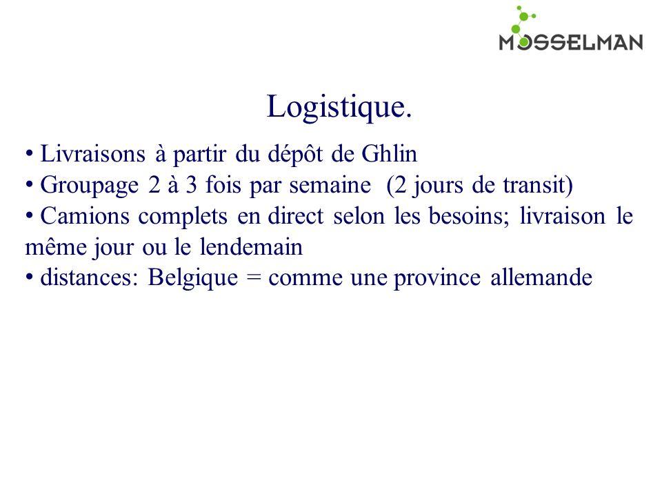 Logistique.