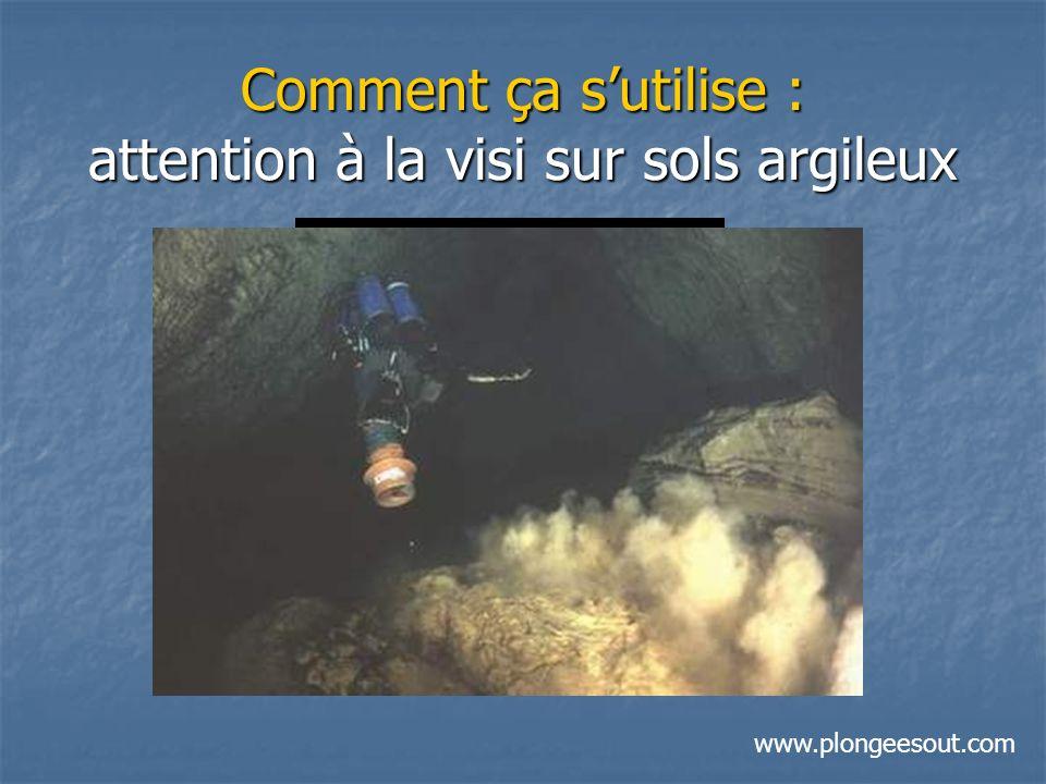 Comment ça sutilise : attention à la visi sur sols argileux www.plongeesout.com