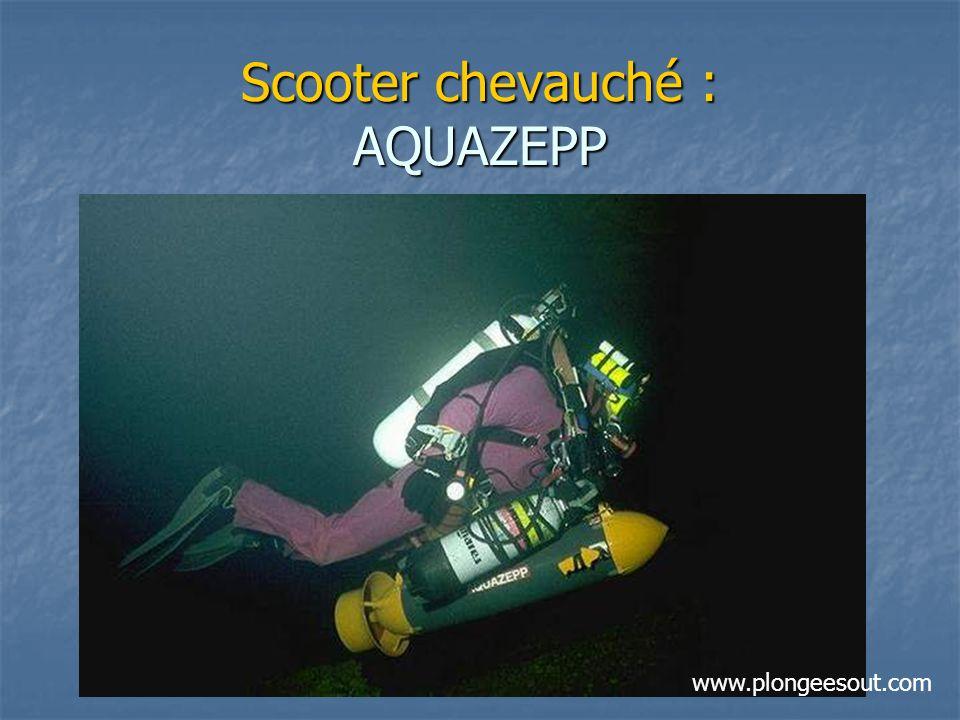 Scooter chevauché : AQUAZEPP www.plongeesout.com