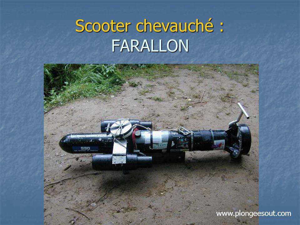 Scooter chevauché : FARALLON www.plongeesout.com
