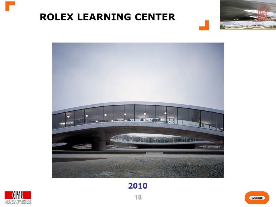 18 ROLEX LEARNING CENTER 2010