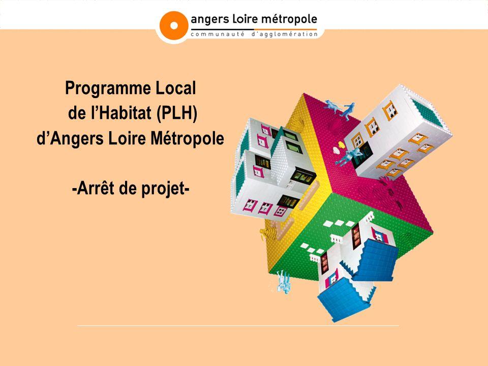 Programme Local de lHabitat (PLH) dAngers Loire Métropole -Arrêt de projet-
