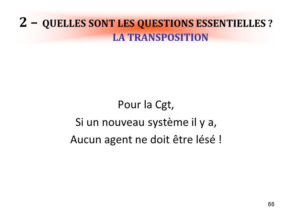 66 2 – QUELLES SONT LES QUESTIONS ESSENTIELLES .