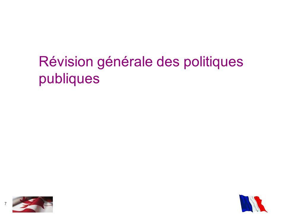 7 Révision générale des politiques publiques