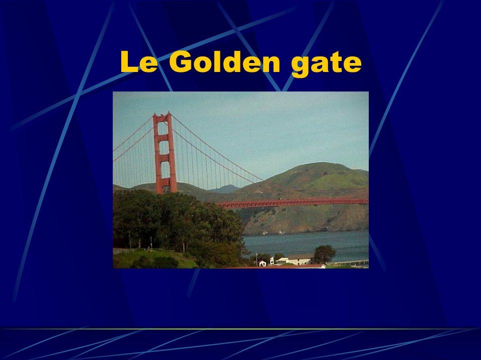 Le Golden Gate Bridge Le Golden Gate Bridge est le pont national des Etats-Unis.