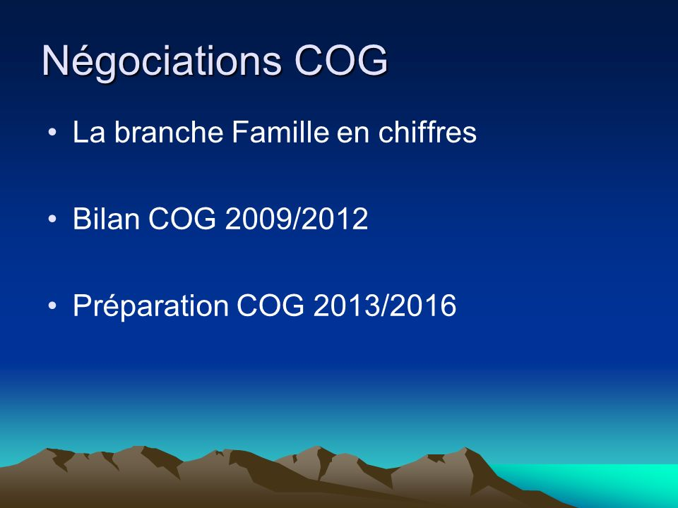 La branche Famille en chiffres ( 2011) La branche famille couvre 11,9 millions dallocataires et 13,8 millions denfants Sur les 6 797220 familles bénéficiaires du Fnpf :
