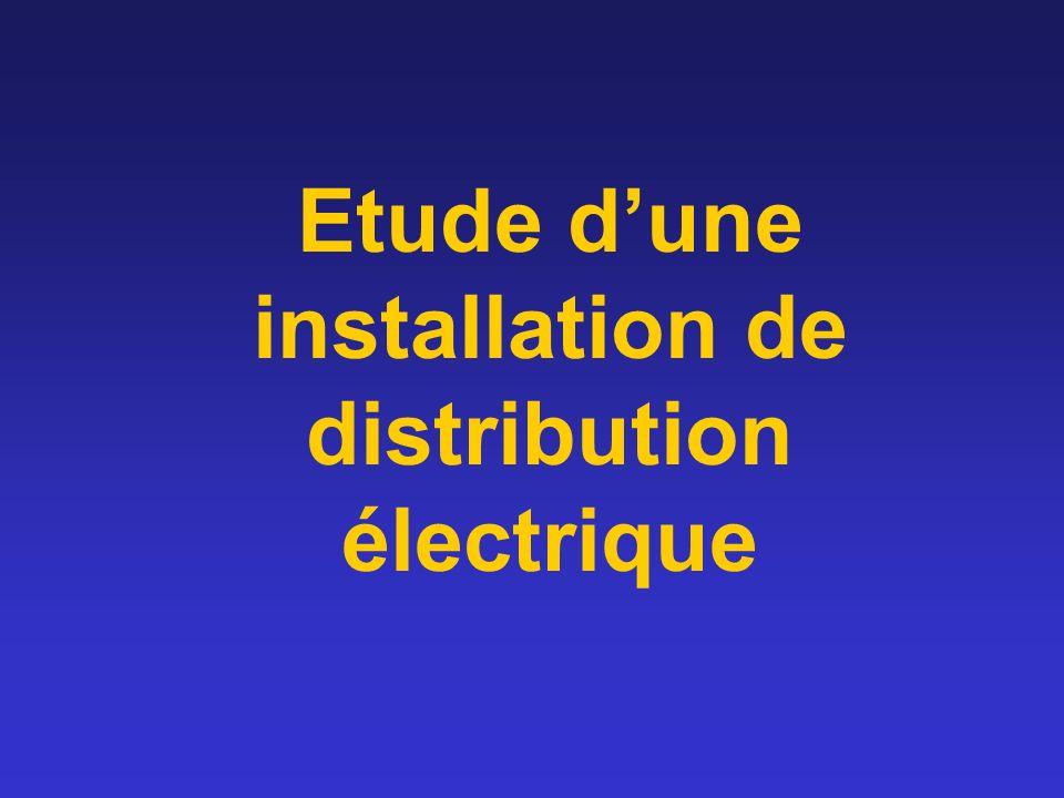 Etude dune installation de distribution électrique