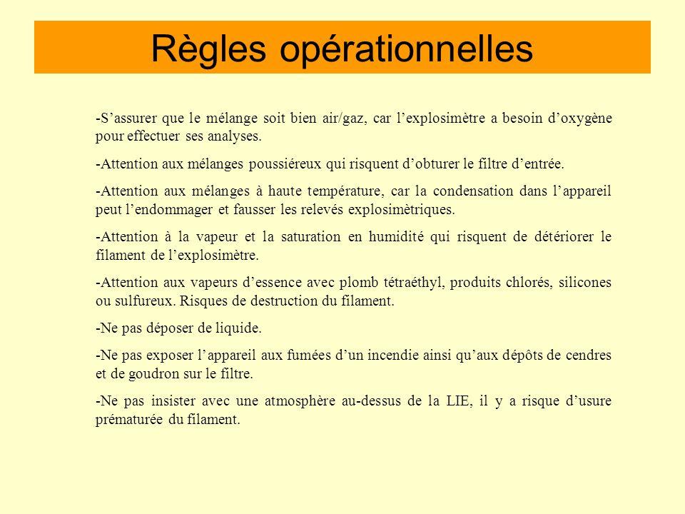 Règles opérationnelles 3) Lintervention Il nengagera que le personnel strictement nécessaire et fera mettre en place un périmètre de sécurité. Il fera