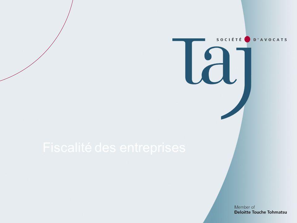 2 Fiscalité des entreprises