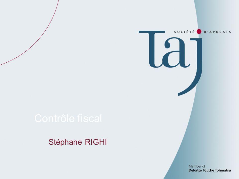 91 Contrôle fiscal Stéphane RIGHI