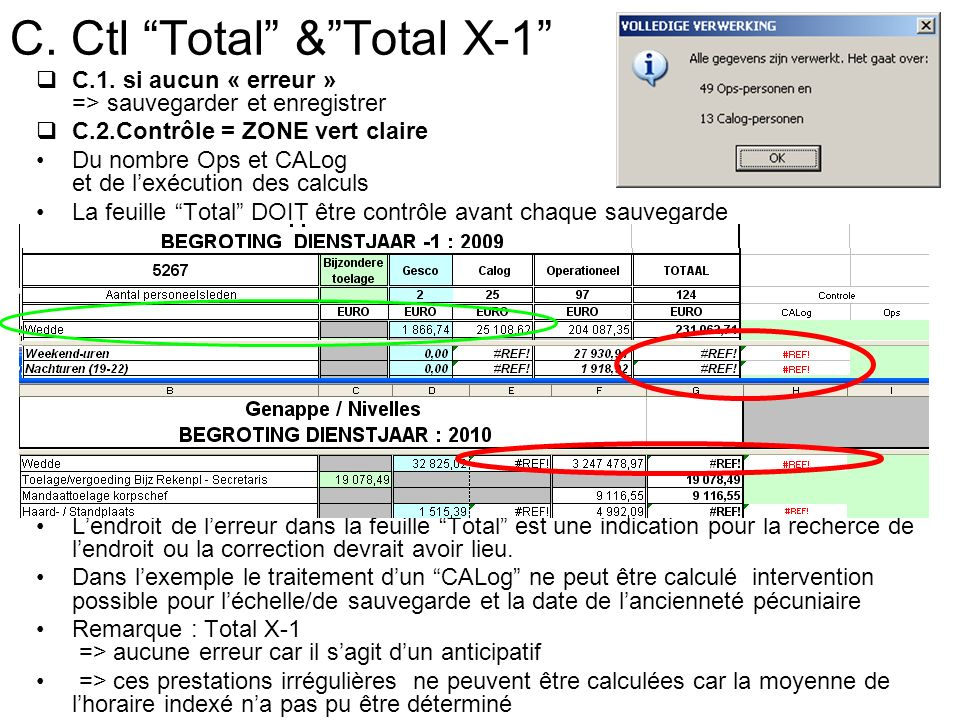 C. Ctl Total &Total X-1 C.1.