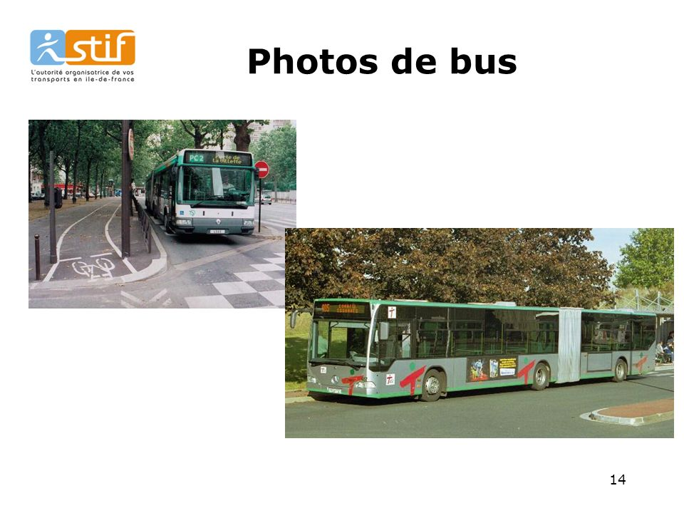 14 Photos de bus