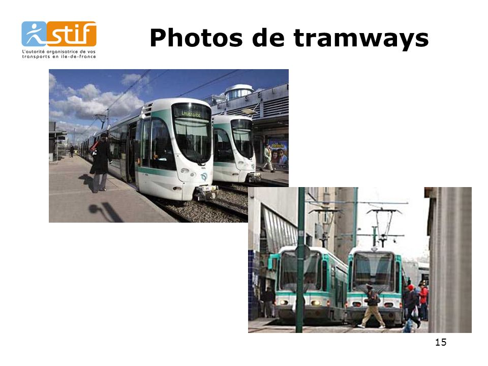 15 Photos de tramways