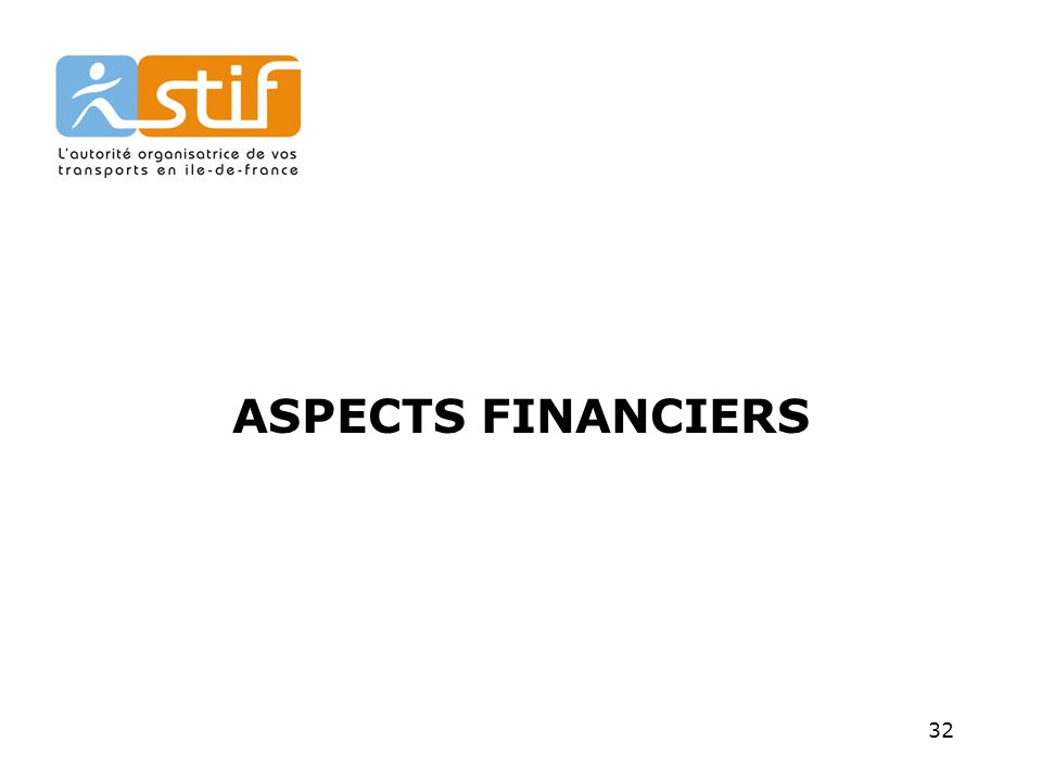 32 ASPECTS FINANCIERS