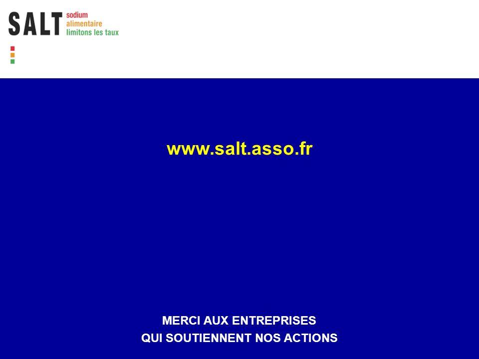 www.salt.asso.fr MERCI AUX ENTREPRISES QUI SOUTIENNENT NOS ACTIONS