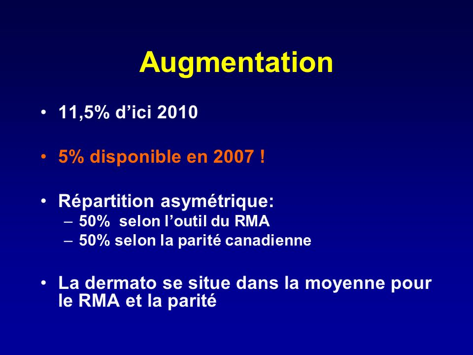 Augmentation 11,5% dici 2010 5% disponible en 2007 .