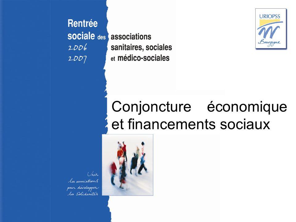 Rentrée sociale 2006-2007 – Uriopss Bourgogne Conjoncture économique et financements sociaux