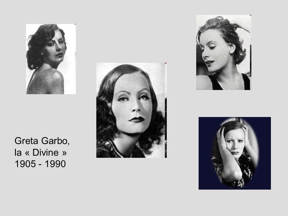 Greta Garbo, la « Divine » 1905 - 1990