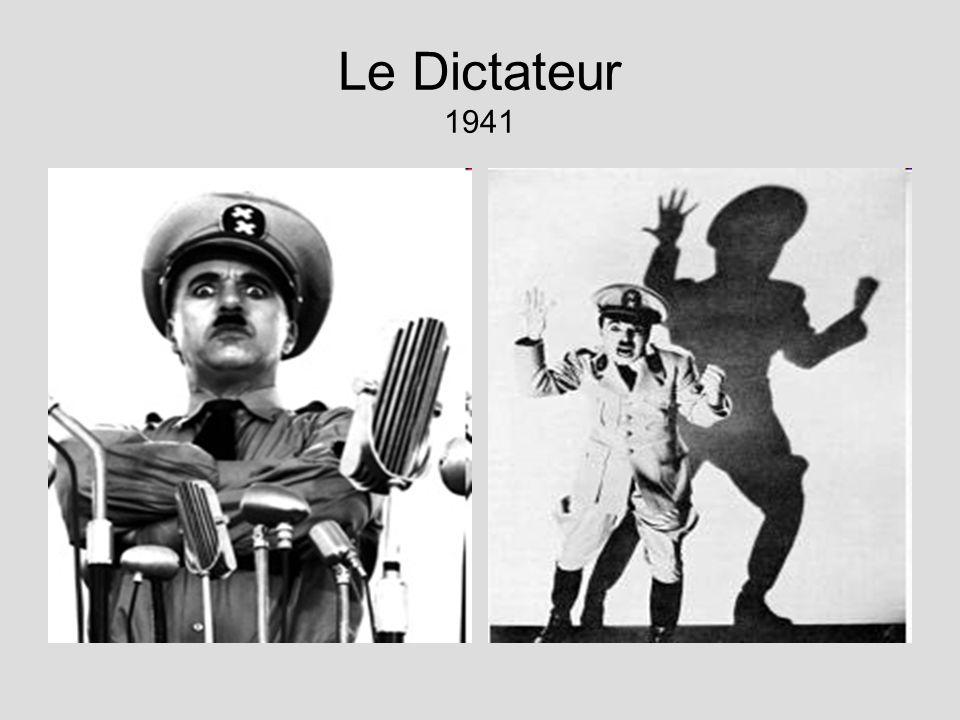 Le Dictateur 1941